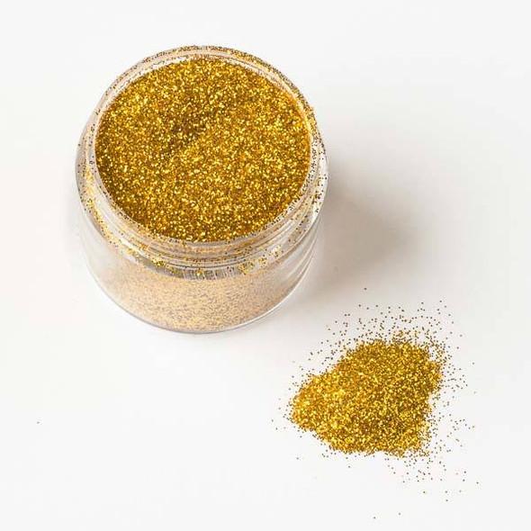 Gold Extra Fine Glitter - 15 gram container