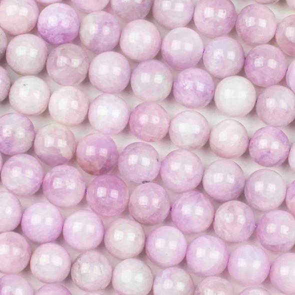 Kunzite 10mm Round Beads - 15 inch strand