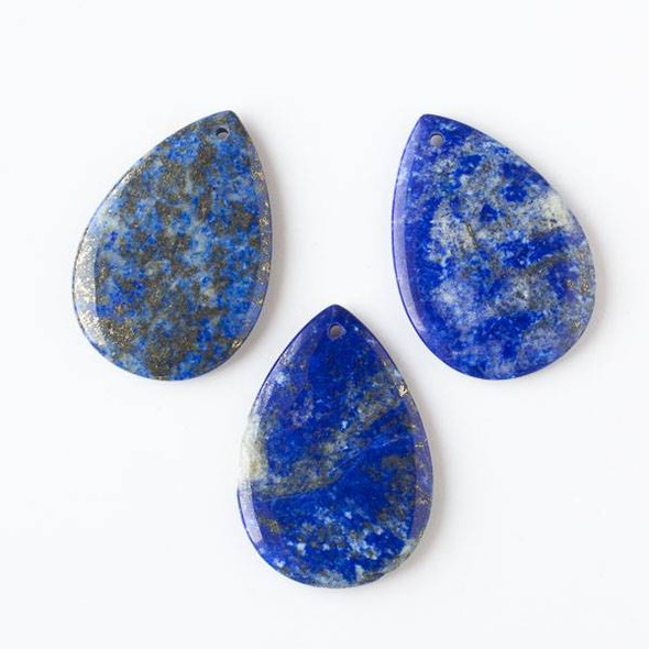 Lapis 32x46mm Large Teardrop Pendant
