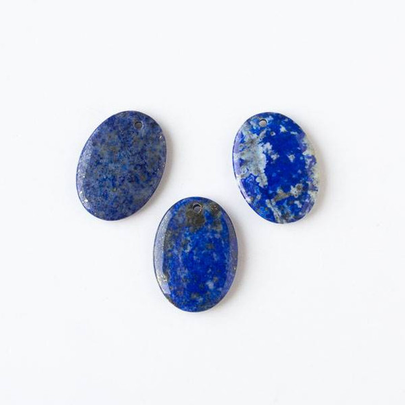 Lapis 22x30mm Medium Oval Pendant