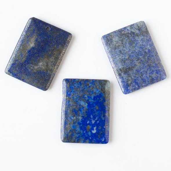 Lapis 30x40mm Rectangle Pendant