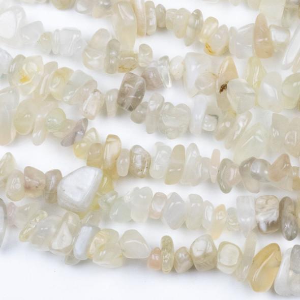 "Moonstone 5-8mm Chip Beads - 34"" circular strand"