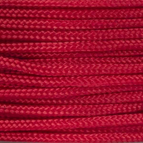 1.5mm Garnet Nylon Cord - 24 meter spool