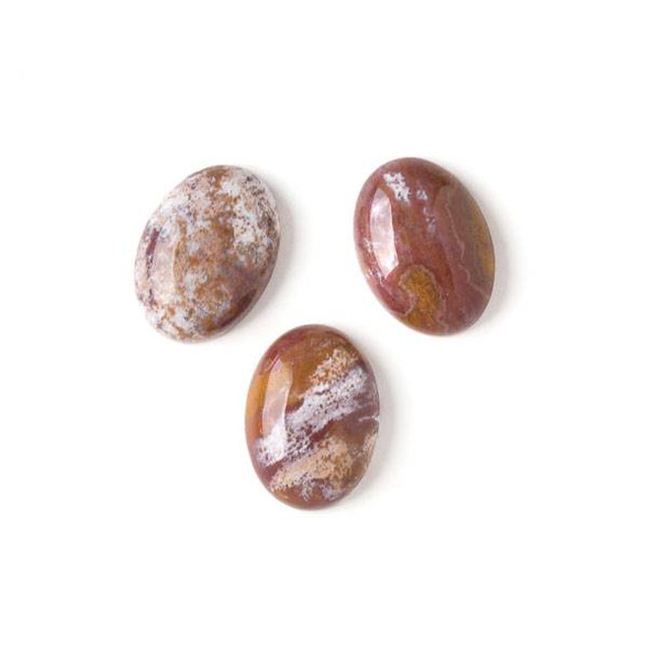 Ocean Jasper 13x18mm Oval Cabochon - 1 per bag