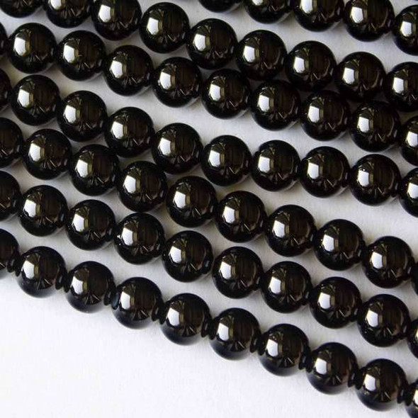 Onyx Grade A 6mm Rounds - 15.5 inch strands