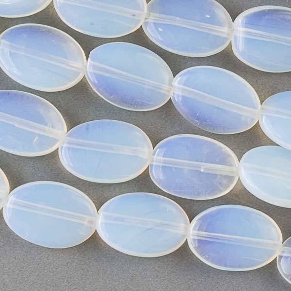 Opaline 10x14mm Oval Beads - approx. 8 inch strand, Set A