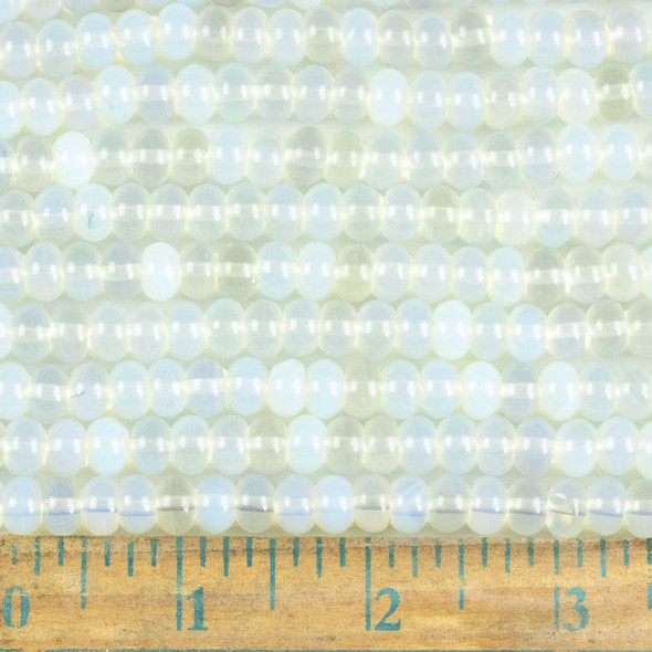 Opaline 5x8mm Rondelle Beads - approx. 8 inch strand, Set A