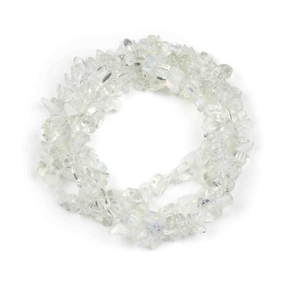 "Opaline 5-8mm Chip Beads - 34"" circular strand"