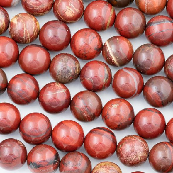 Rainbow Jasper 16mm Round Beads - 15 inch strand