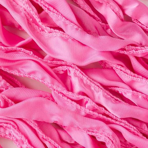 Hand Dyed Princess Pink Ribbon