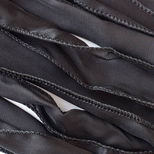 Dyed Jet Black Ribbon