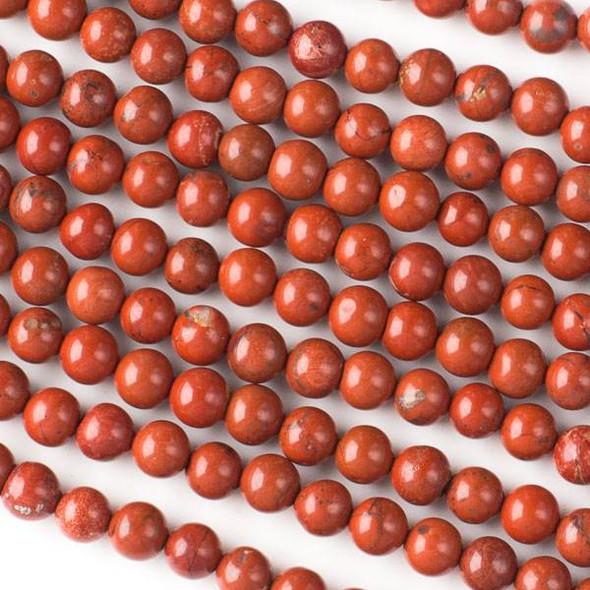 Red Jasper 6mm Rounds - 16 inch strand