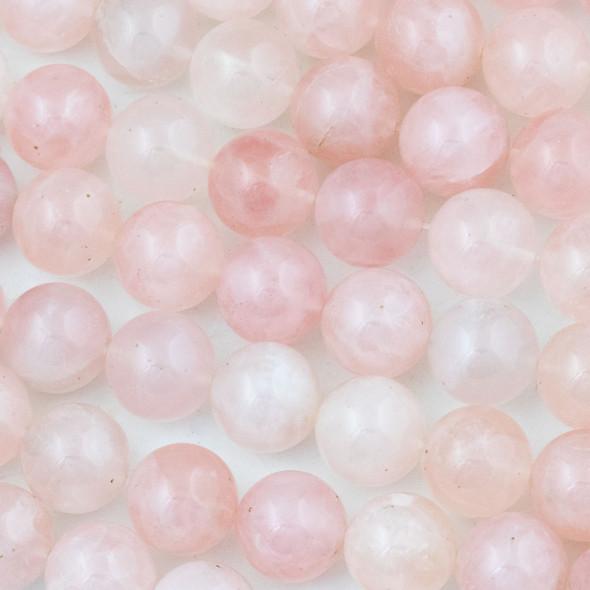 Rose Quartz 16mm Round Beads - 15 inch strand
