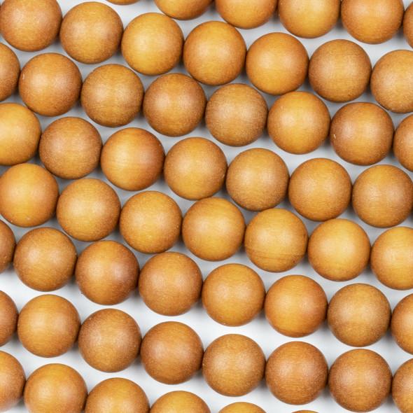 Sandalwood 10mm Round Beads - 15.5 inch strand