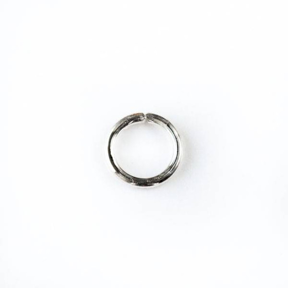 Sterling Silver 7mm Open Jump Rings - 18 gauge - 20 per bag