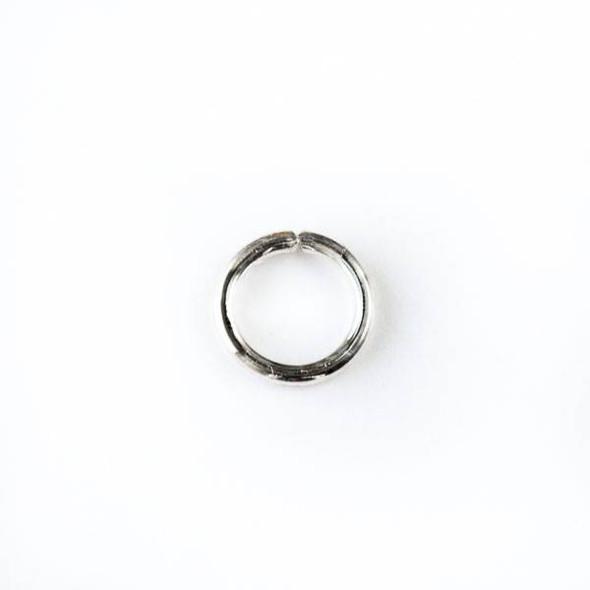 Sterling Silver 7mm Open Jump Rings - 18 gauge - 20 per bag