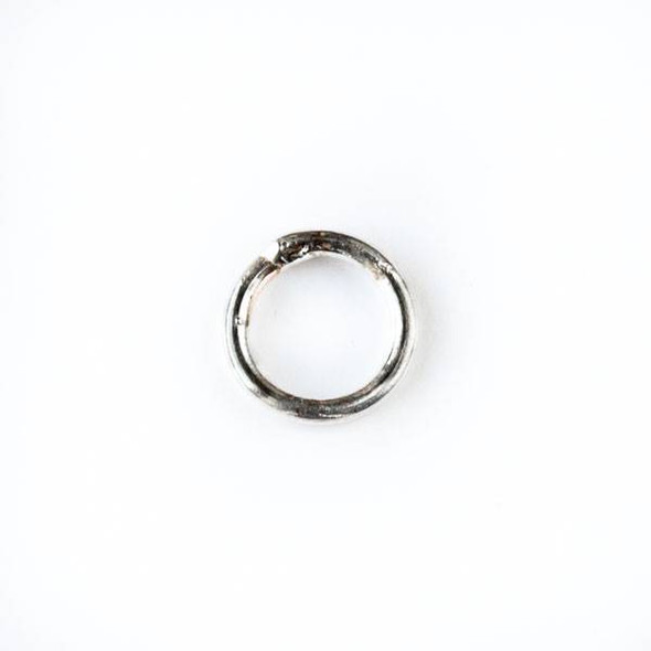 Sterling Silver 8mm Closed Jump Rings - 18 gauge - 20 per bag