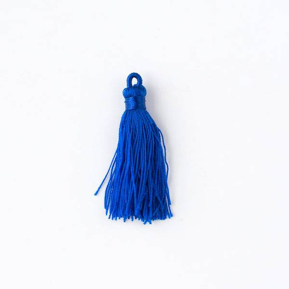 "Royal Blue 1.5"" Nylon Tassels - 2 per bag"