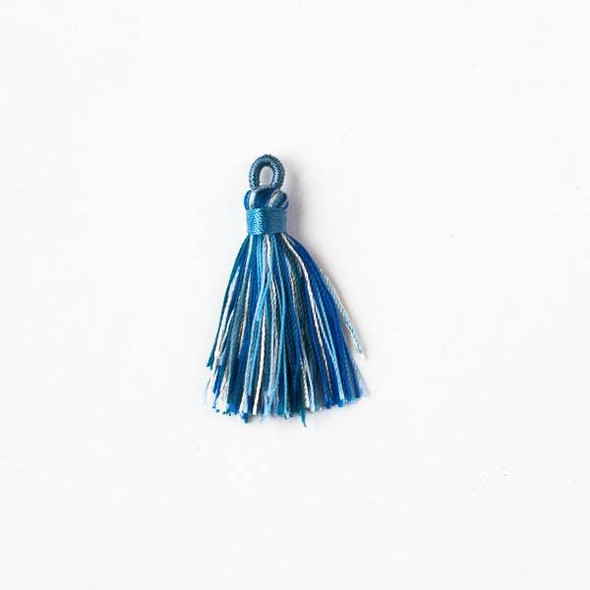 "Multicolor Wind Spirit 1.5"" Nylon Tassels - 2 per bag"