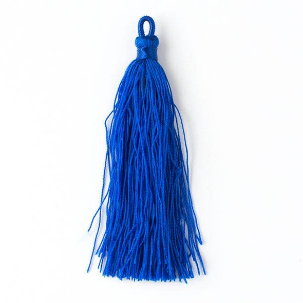 "Royal Blue 3"" Nylon Tassels - 2 per bag"
