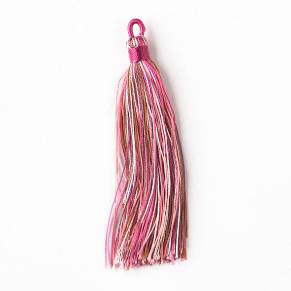 "Multicolor Strawberry Shortcake 3"" Nylon Tassels - 2 per bag"