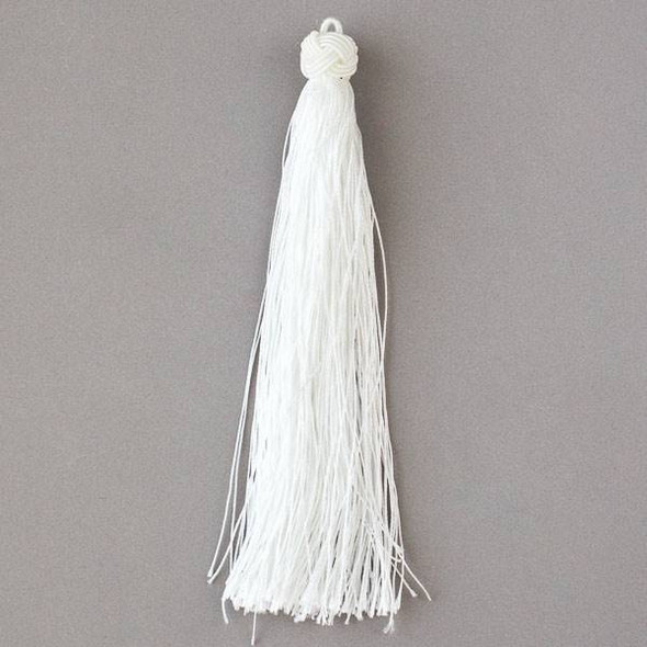 "Snow White 5"" Nylon Tassels - 2 per bag"