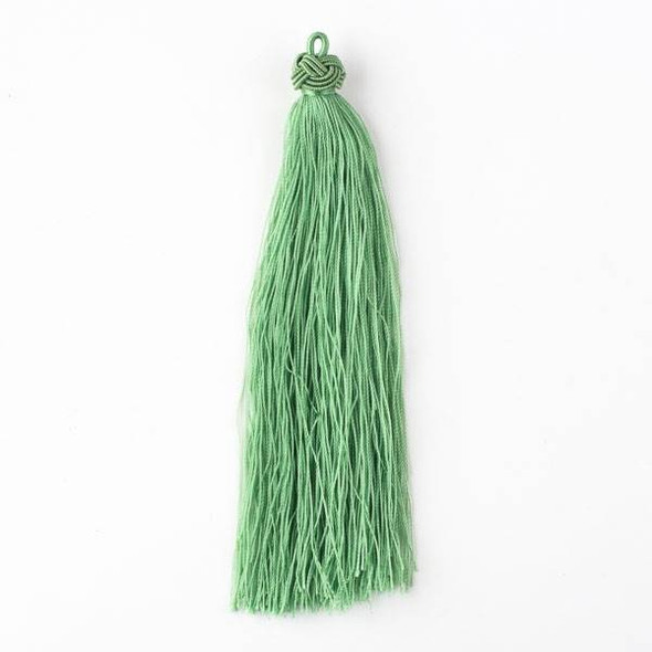 "Ivy Green 5"" Nylon Tassels - 2 per bag"