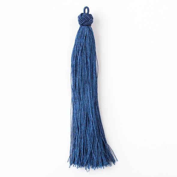 "Navy Blue 5"" Nylon Tassels - 2 per bag"