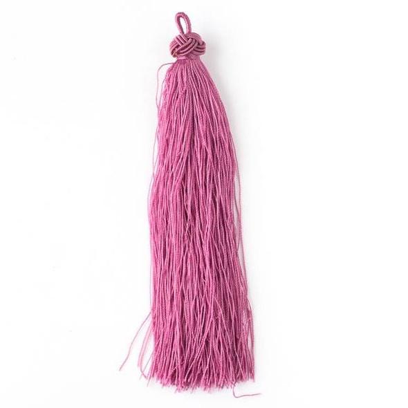 "Parisian Pink 5"" Nylon Tassels - 2 per bag"