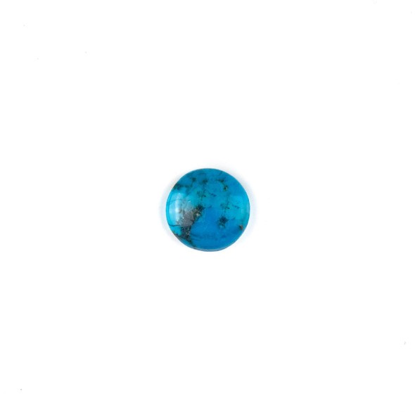 "Turquoise Grade ""AB"" 14mm Coin/Button Cabochon - 1 per bag"