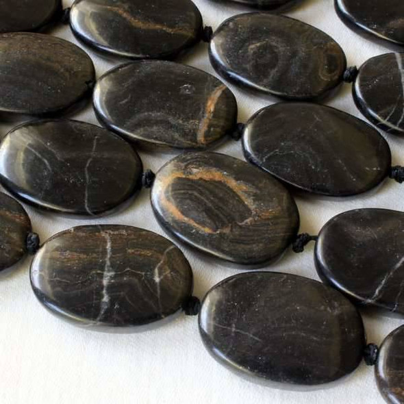 Stromatolite - Turtle Shell Agate 18x25mm Knotted Oval