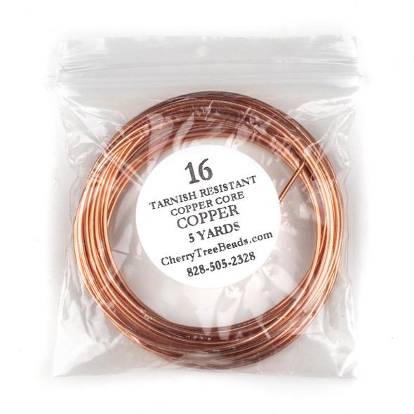 16 Gauge Bare Copper Wire in a 5 Yard Coil