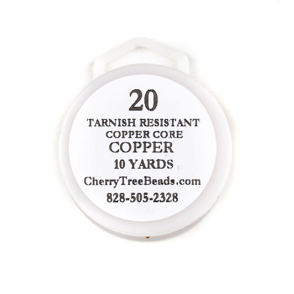 20 Gauge Coated Tarnish Resistant Copper Wire on 10-Yard Spool