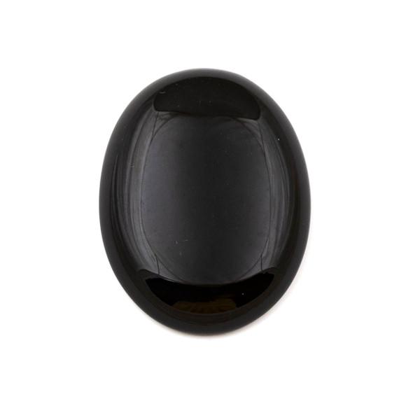 Onyx 30x40mm Oval Cabochon - 1 per bag