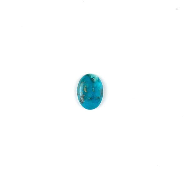 "Turquoise Grade ""AB"" 10x14mm Oval Cabochon - 1 per bag"