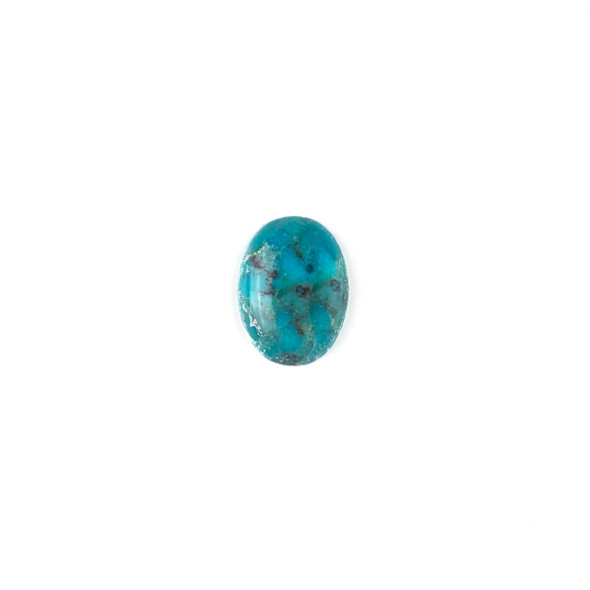 "Turquoise Grade ""AB"" 13x18mm Oval Cabochon - 1 per bag"
