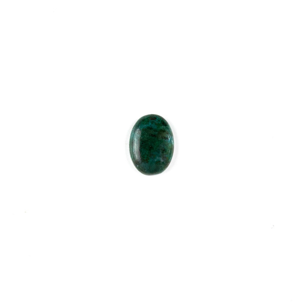 Chrysocolla 10x14mm Oval Cabochon - 1 per bag