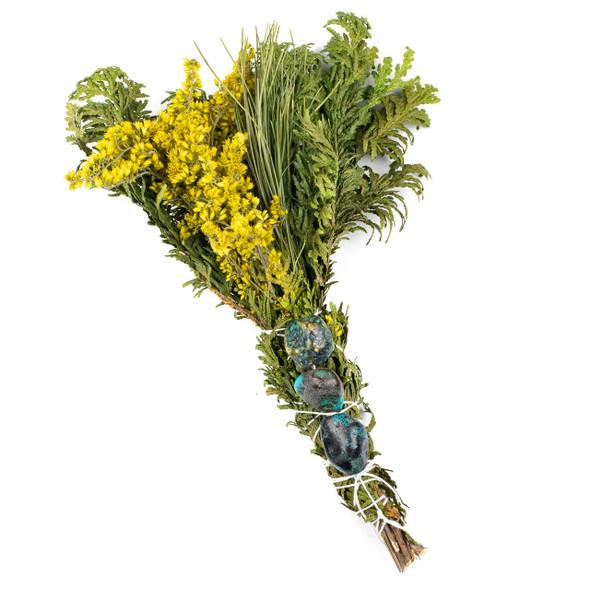 Turquoise Herbal Smoke Bundle #17