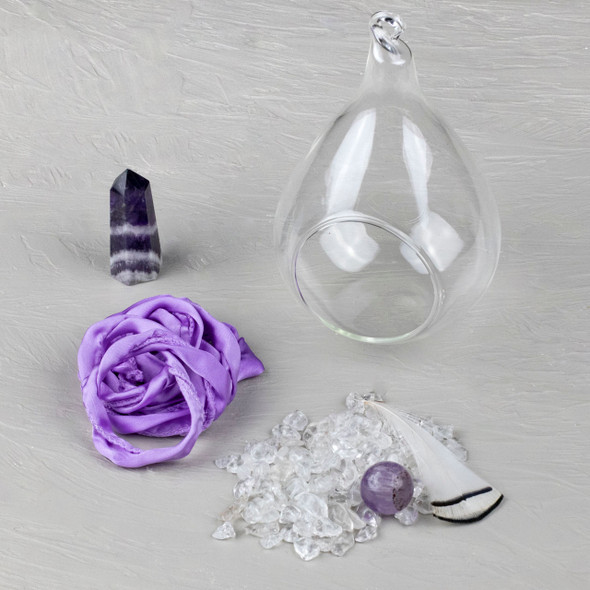 Amethyst Hanging Bulb Kit