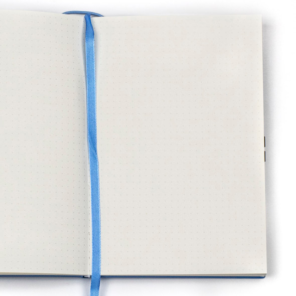 """Dotted Bullet Journal - Blue, Hardcover, 5.5x8.25"""""""
