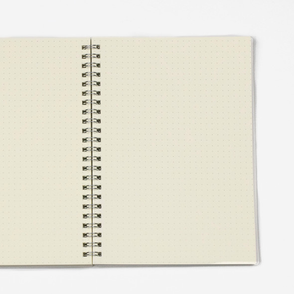 Dotted Bullet Journal - A5, Clear Cover, 80 pages, 5.5x8""