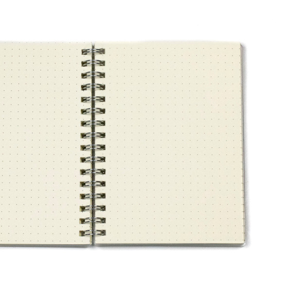 """Dotted Bullet Journal - A6, Clear Cover, 80 pages, 4.5x5.5"""""""