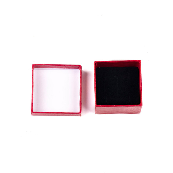 Jewelry Gift Box - Red Ring Box, 2x2""