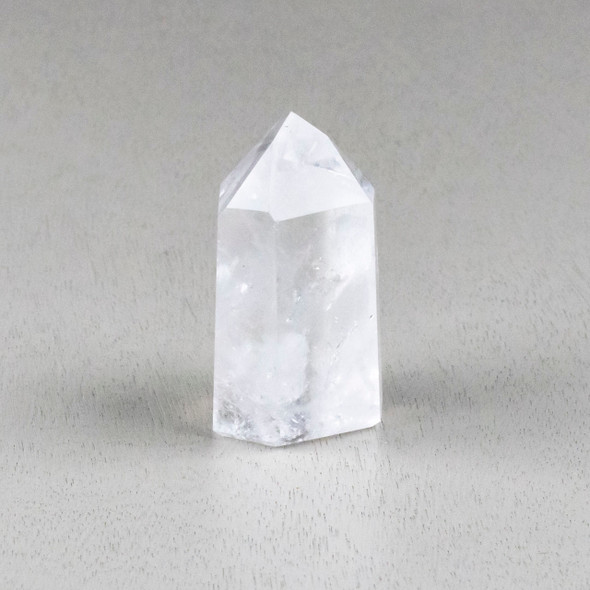 """Clear Quartz Crystal Point Tower - #3, approximately 1.75x3"""""""