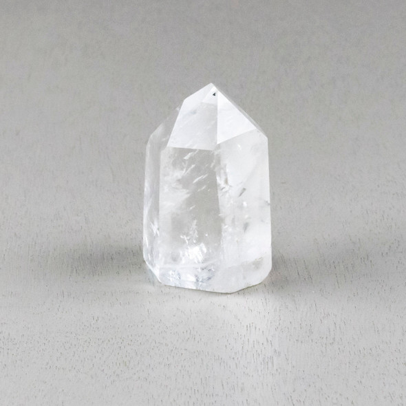 """Clear Quartz Crystal Point Tower - #4, approximately 1.75x2.5"""""""