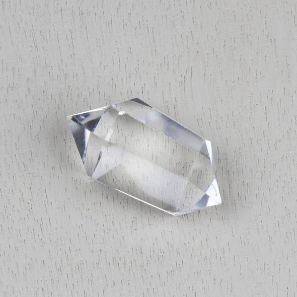 Clear Quartz 24x45mm Double Terminated Crystal Point Specimen - 1 per bag