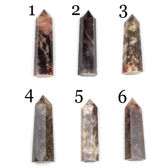 Red Quartz Point Towers