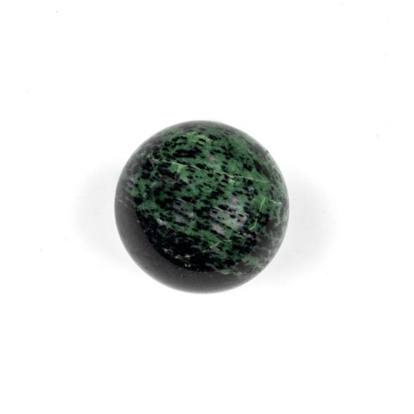 Ruby Ziosite 2.25 inch Diameter Stone Sphere - #3