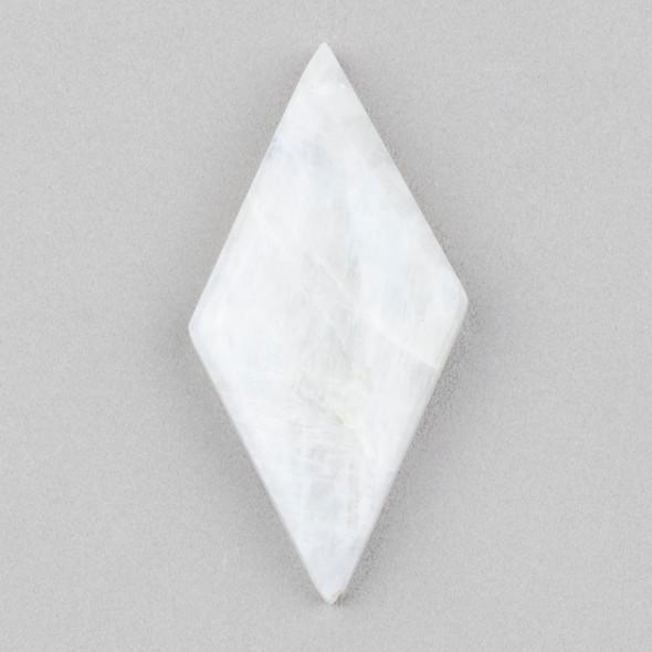 Moonstone 22x45mm Diamond Cabochon - 1 per bag