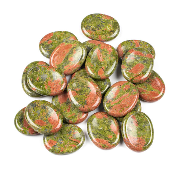 Unakite Worry Stone - 1 per bag